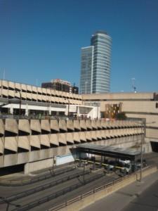 La gare de la Part-Dieu, point sensible du réseau ferré ( Enviscope.com)