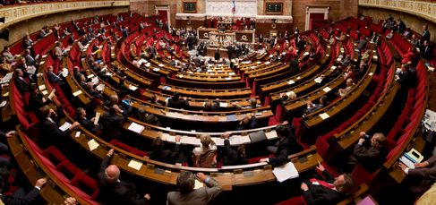 L'assemblée nationale (Wikimedia CC/ R.Ying et T.Morlier)