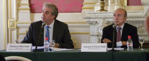 Richard Brumm et Gérard Collomb (SDH/LPI)