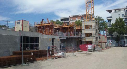Villeurbanne plusieurs r sidences en construction sur le for Est habitat construction