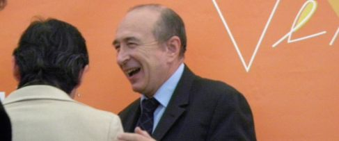 Gérard Collomb, maire de Lyon et président du Grand Lyon