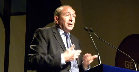 Gérard Collomb, sénateur maire de Lyon