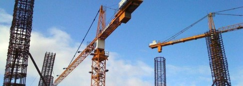 Construction grue - Photo Flickr drcorneilus