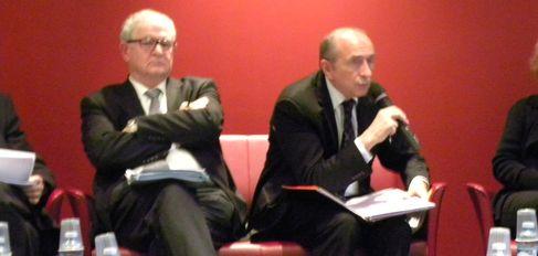 Jacky Darne et Gérard Collomb (SDH/LPI)