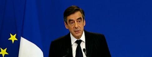 François Fillon lors de la présentation du Plan de rigueur
