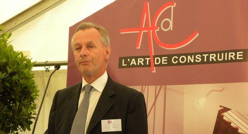 Gérard Bailleul, en plein discours