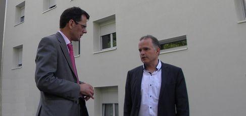 Guillaume Hamelin et Bruno Peylachon (SDH/LPI)