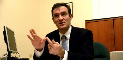 Michel Havard, candidat UMP à la mairie de Lyon