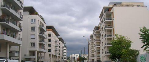 Rue à proximité de la gare de Vaise