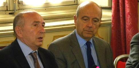 Gérard Collomb et Alain Juppé (SDH/LPI)