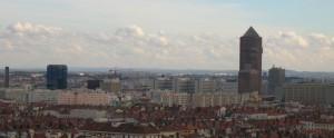 Lyon vu de Fourvière