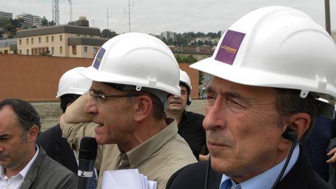 Gérard Pénot et Gérard Collomb, en juin 2012 (SDH/LPI)