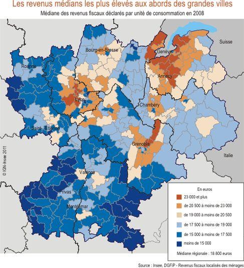 Les Secteurs Les Plus Riches Du Grand Lyon Et Du Rhone Lyon Pole Immo