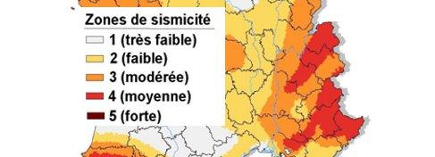 séisme en Rhone Alpes