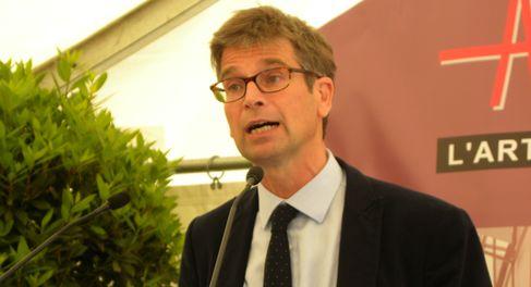 Philippe Rosio, président de Foncière Inéa, qui a investi dans cet immeuble de près de 7000 m² de bureaux.