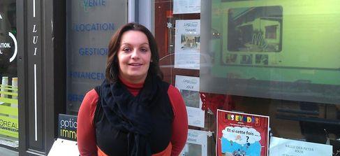 Stéphanie Collomb, directrice de l'agence Logideal sur Tarare. (SDH/LPI)