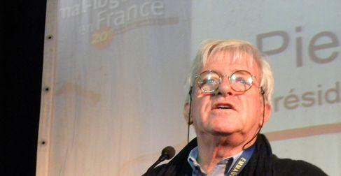 Pierre-Yves Teysse, président d'Emmaüs Lyon (SDH/LPI)