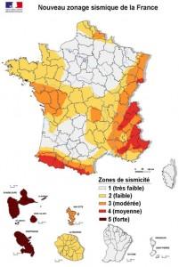 Riques de tremblement de terre en France